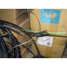 Оптический кабель Б/У для внешней прокладки (с металлическим тросом) в Армавире, оптокабель БУ (Армавир)
