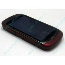Красно-розовый телефон Alcatel One Touch 818 (Армавир)