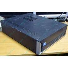 Лежачий четырехядерный компьютер Intel Core 2 Quad Q8400 (4x2.66GHz) /2Gb DDR3 /250Gb /ATX 250W Slim Desktop (Армавир)