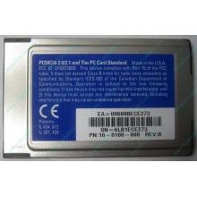 Сетевая карта 3COM Etherlink III 3C589D-TP (PCMCIA) без LAN кабеля (без хвоста) - Армавир